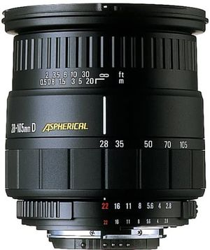 Sigma Aspherical IF 28-105mm f/2.8-4 IF ASP Lens For Canon for Sale in Murrieta, CA