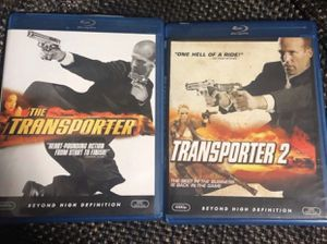 BLU RAY-THE TRANSPORTER ( 1-2) movie- for Sale in Tamarac, FL