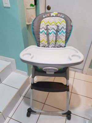 Ingenuity Trio 3-in-1 High Chair – Ridgedale - High Chair, Toddler Chair, and Booster for Sale in Miami, FL