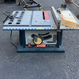 "Ryobi 10"" Table Saw for Sale in FL, US"
