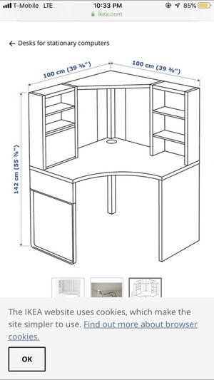 Micke Corner desk IKEA for Sale in San Diego, CA