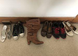 Women's shoe lot size 8.5-9.5 for Sale in San Diego, CA