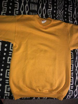 Yellow Champion Sweatshirt for Sale in Gainesville, VA