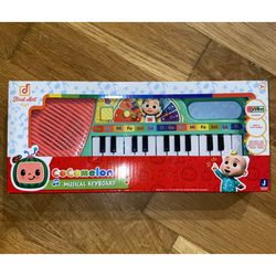 NEW Cocomelon Musical Keyboard Piano Toy JJ Play And Sing for Sale in La Puente,  CA