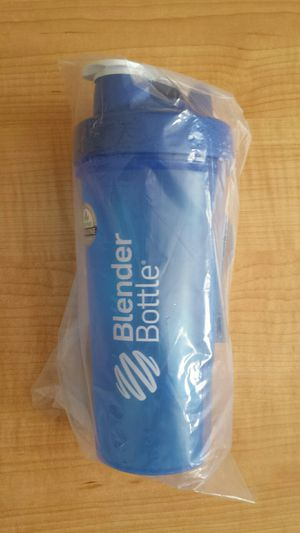BRAND NEW Blue Classic Blender Bottle with Wire Shaker Ball. for Sale in Saint Petersburg, FL
