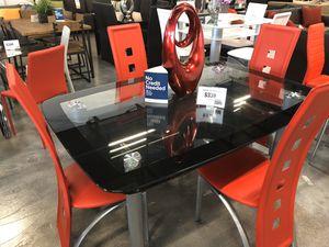 Valencia Black Dining Table Set 🔥 for Sale in Virginia Gardens, FL
