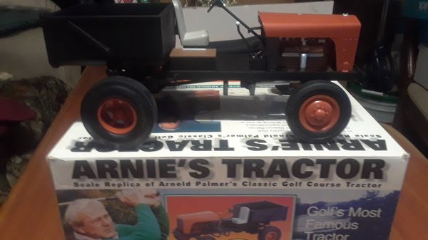 Arnold Palmer's original tractor him and his father used to drive on his farm