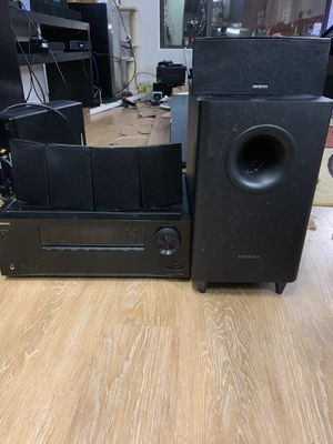 Onkyo 5.1 surround sound system for Sale in UNIVERSITY PA, MD