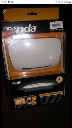Tenda Wireless Broadband Router for Sale in Akron, OH