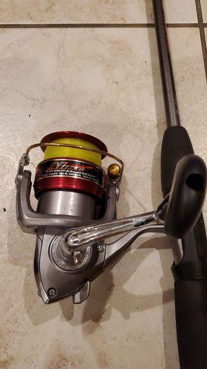 Daiwa 3000 Mike Iaconelli fishing reel Berkley Torque 6' rod pole for Sale in Davie, FL