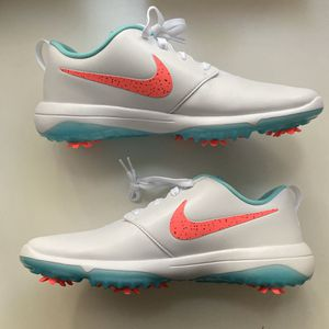 Men's Nike Roshe G Tour Golf Shoes Hot Punch Comfort White Sz 11.5 for Sale in Seattle, WA