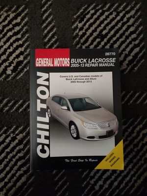 Buick repair manual for Sale in University Place, WA