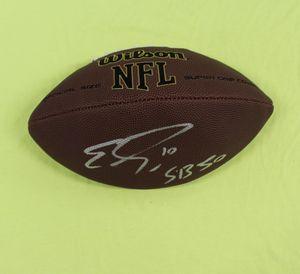 Emmanuel Sanders Denver Broncos Signed Autographed NFL Football PSA/DNA SB 50 for Sale in Cupertino, CA