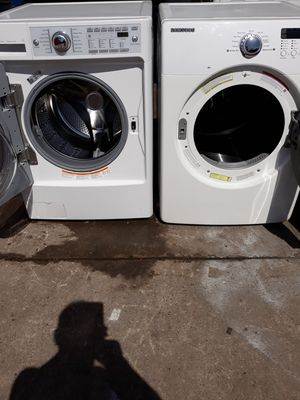 KENMORE ELITE WASHER AND SAMSUNG DRYER GAS for Sale in Hayward, CA