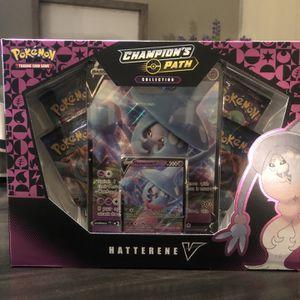 Pokémon TCG Hatterene V Box for Sale in Gilbert, AZ