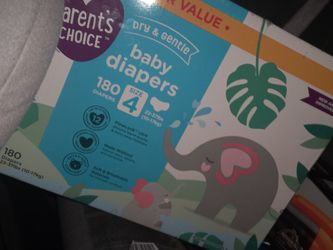 Pampers Dry And Gentle Size 4 180ct for Sale in Portland,  OR
