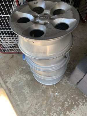 4 Jeep Wrangler rims (no tires) EXCELLENT CONDITION for Sale in Dunn Loring, VA