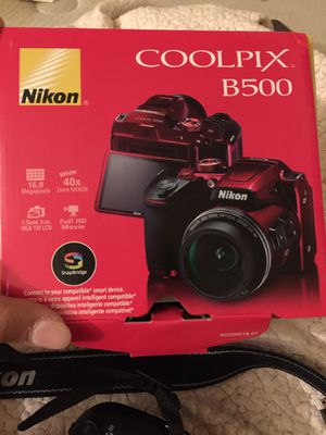 Nikon COOLPIX B500 camera for Sale in Fort McDowell, AZ