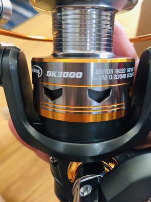 Fishing reel. DK 3000. For rod 5-8feet for Sale in Vallejo, CA