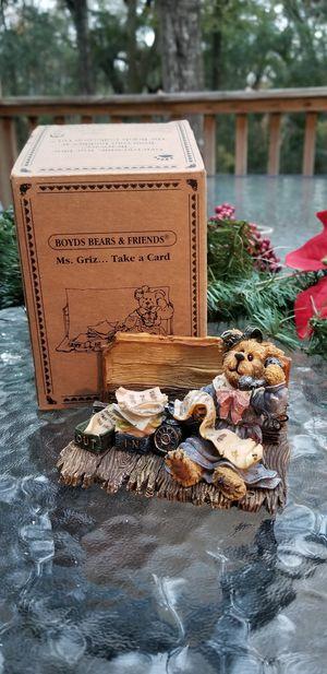 Boyd's Bears Ms Griz take a card for Sale in Miccosukee, FL