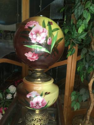 """Gone With The Wind"" Antique Oil Lamp for Sale in Oakland Park, FL"
