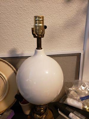 Antique Milk Glass? Globe Lamp for Sale in Norfolk, VA