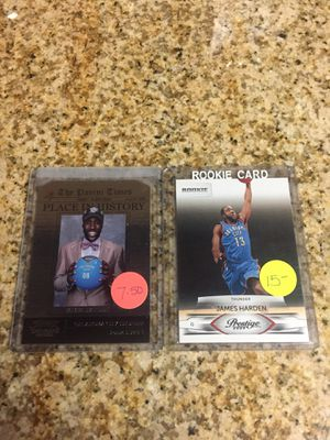 Baseball , Basketball cards James Harden Rookie cards $8 for Sale in West Carson, CA