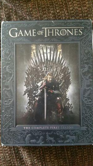 Game of Thrones 1st season DVD set for Sale in Hazlehurst, GA