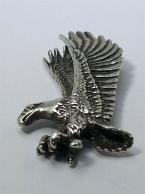 Men's Women's Sterling Silver 925 Eagle Charm #80692 for Sale in Lawrence, NY