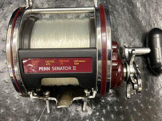 Penn Senator II 114HL 6/0 Big Game Saltwater Fishing Reel Made In USA for Sale in Long Beach,  CA