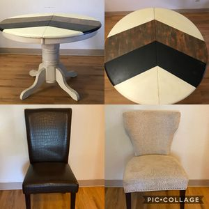 Dining Table & 4 Chairs for Sale in Joint Base Lewis-McChord, WA