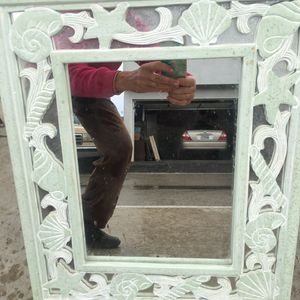 Small green mirrored cabinet for Sale in Costa Mesa, CA