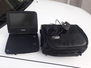 DVD player with case for Sale in Henderson, NV