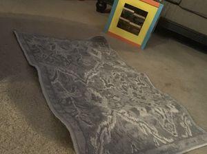 Grey rug 1'7 + 2'7 50+80 cm for Sale in Fresno, CA