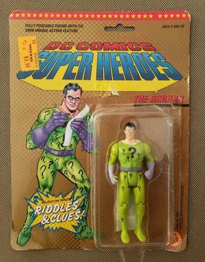 The Riddler 1989 DC Comics Super Heroes Action Figure ToyBiz for Sale in Pembroke Pines, FL
