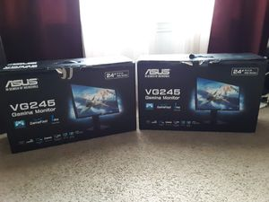 2 asus monitors brand new for Sale in Sherman, TX