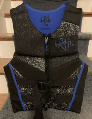 Life jacket adult large for Sale in Colchester, CT