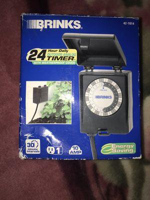 Brinks 24-Hour Daily Timer for Sprinklers for Sale in Elizabeth, NJ