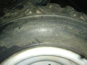 1987 lt250r Dunlap rims and tires for Sale in Costa Mesa, CA