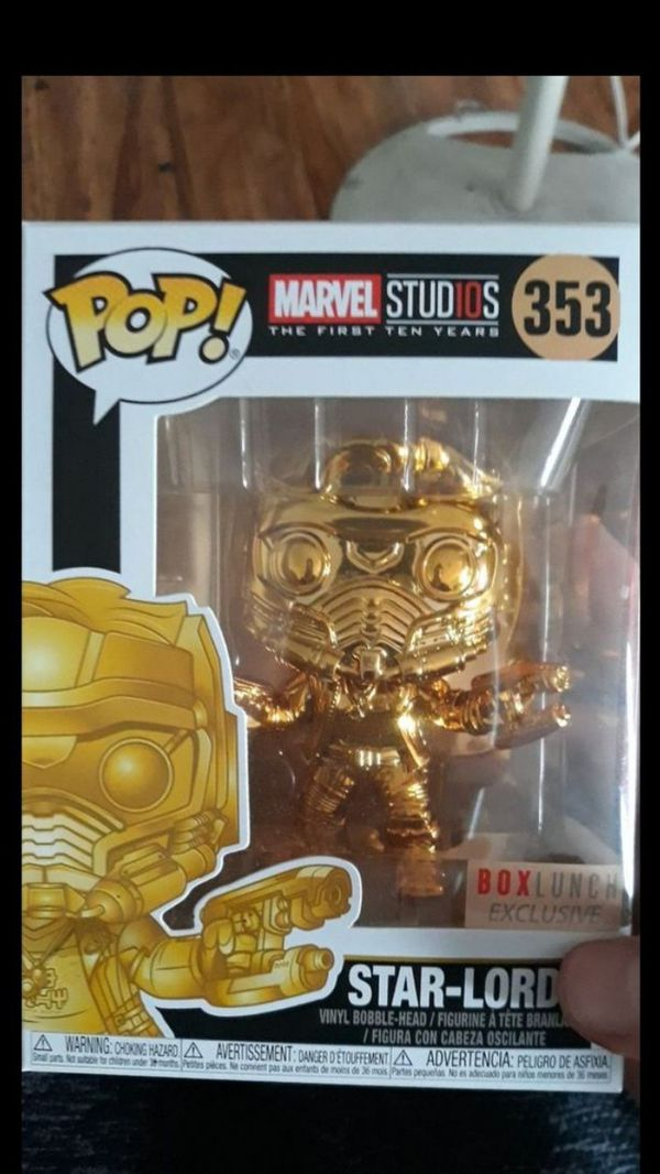 Starlord lunchbox exc. Pop