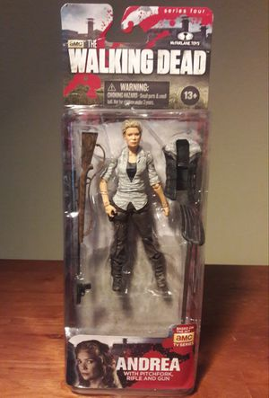 The Waking Dead Andrea Action Figure mcfarlane toys for Sale in Marietta, GA