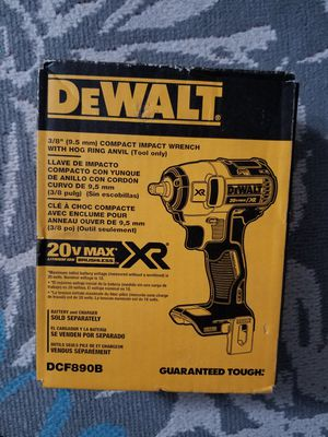 "DEWALT IMPACT WRENCH XR BRUSHLESS 3/8"" for Sale in Fountain Valley, CA"