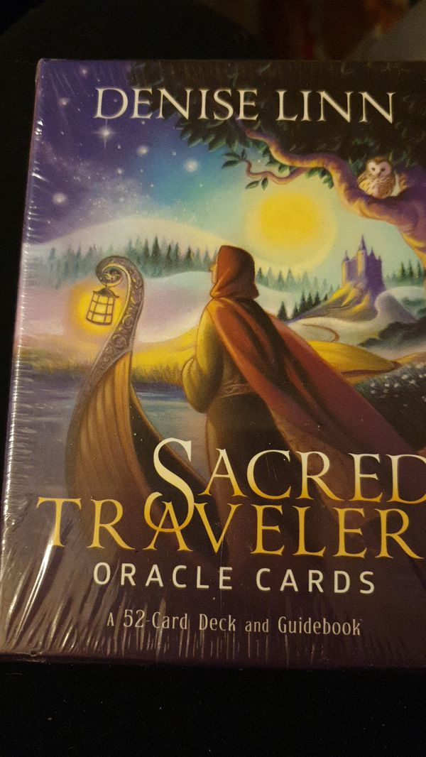 The Sacred Traveler Oracle Cards