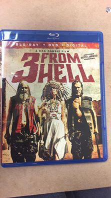 3 from Hell Blu Ray for Sale in Coon Rapids, MN