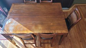 9Pc (8+1) Counter Height Kitchen Dining Table for Sale in Tacoma, WA
