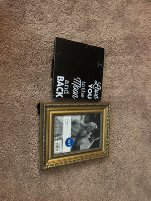 2 never used picture frames for Sale in North Olmsted, OH