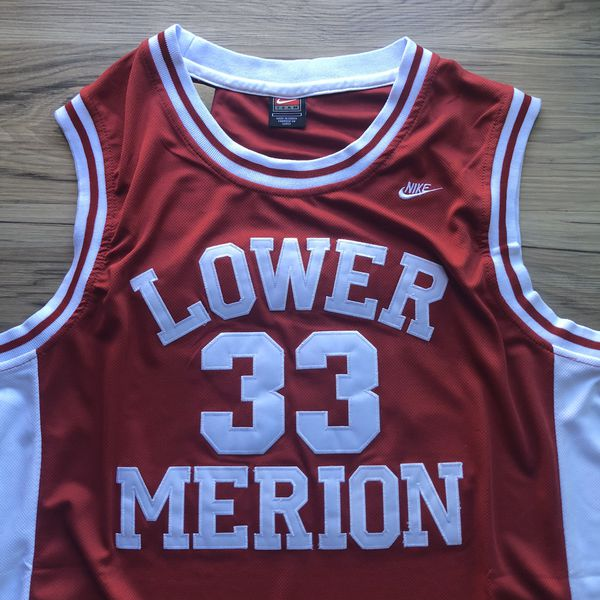 BRAND NEW! 🔥 Kobe Bryant #33 Lower Merion High School Lakers Jersey + Size Large + SHIPS OUT TODAY! 📦💨
