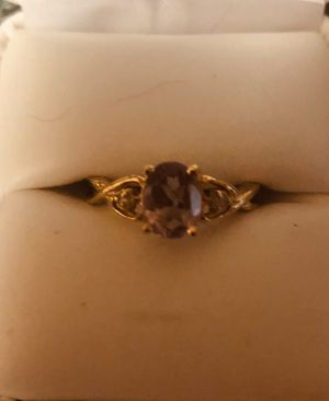 Amethyst brand new ring. Size 7. New for Sale in Pooler, GA