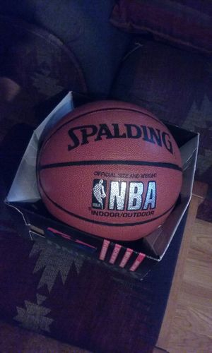 NBA Seattle Sonics Autographed By Sam Perkins Spalding Basketball for Sale in Tacoma, WA