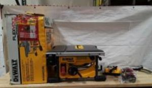 Dewalt flexvolt table saw for Sale in Cape May, NJ